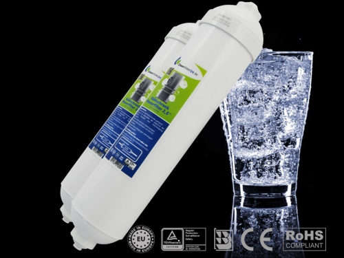 "2 x Cleanwater24-SBS-Kühlschrankfilter 2,5"""