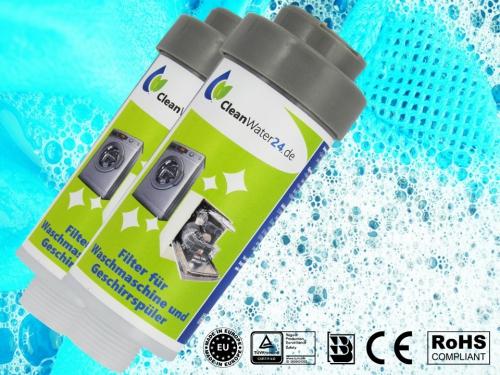 2 x Cleanwater24 Waschmaschinenfilter / Geschirrspüler mit ANM